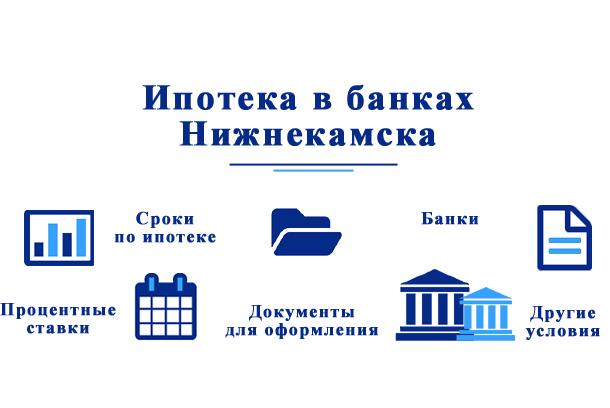 В каких банках можно взять ипотеку в Нижнекамске?