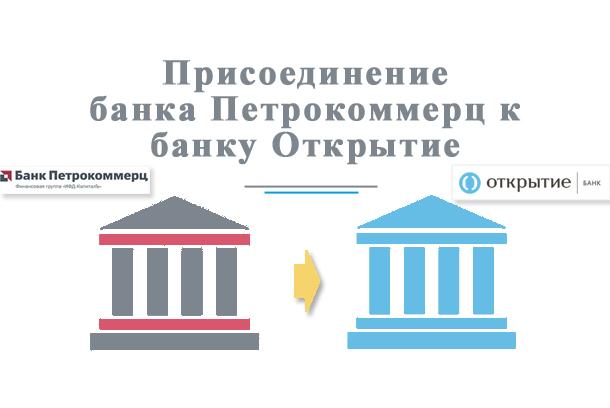Банк Петрокоммерц вошёл в состав банка Открытие