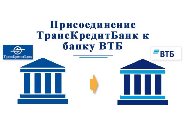 Переход Транскредитбанка в ВТБ