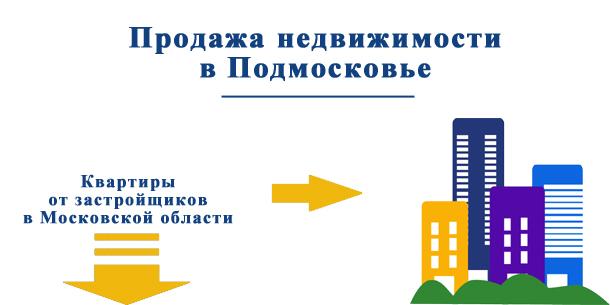 Продажа недвижимости в Подмосковье — квартиры в новостройках от застройщика