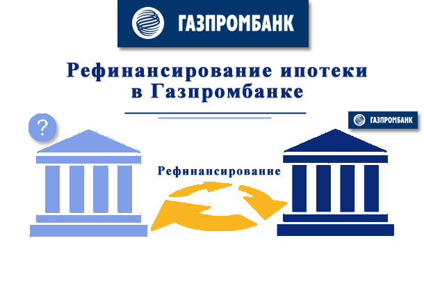 Рефинансирование ипотеки в Газпромбанке — какие условия?