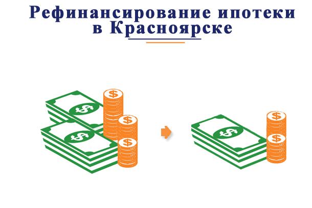 В каких банках можно произвести рефинансирование ипотеки в Красноярске?