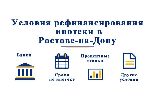 В каких банках Ростова-на-Дону можно произвести рефинансирование ипотеки